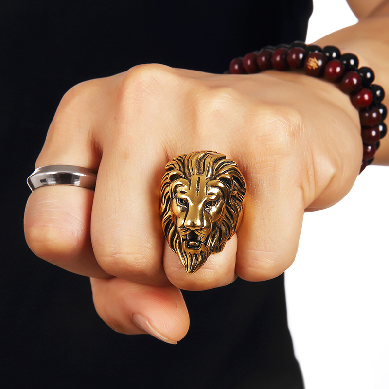 silver trendy gz ring rings solid adjustable pin size face thai men popular punk