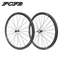 2017 New FCFB Road Carbon Wheelset F 38mm Carbon Clincher With R36 For Road Bike Bicycle
