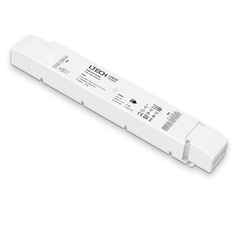 New LM-75-24-G2A2 0-10V 1-10V dimming driver;AC200-240V input;75W 24V DC 3.12A output Led CCT color temperature led Driver
