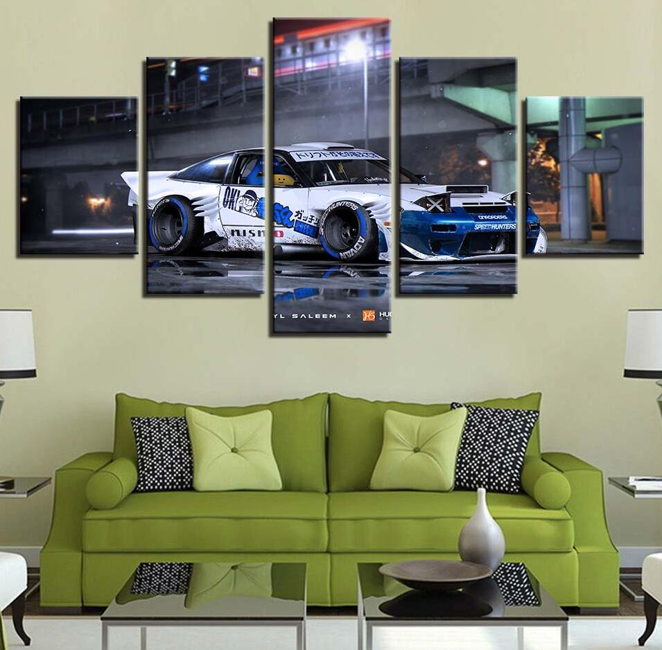 Direct Selling Canvas HD Prints Vehicle Painting Artworks
