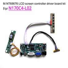 For N170C4-L02 laptop LCD monitor 60Hz LVDS 1440*900 17″ 2-lamp 30 pins CCFL M.NT68676 display controller driver board kit