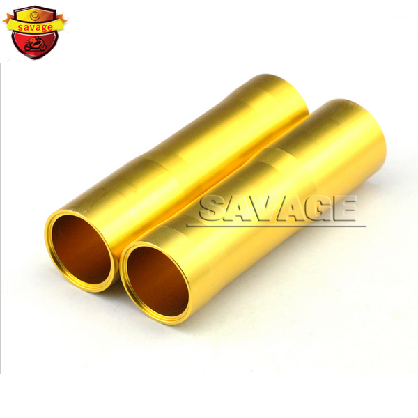 Подробнее о For YAMAHA MT07 FZ07 MT-07 FZ-07 2014-2015 Gold Motorcycle CNC Aluminum Front Fork Tube Slider Cover for yamaha mt07 fz07 mt 07 fz 07 2014 2015 motorcycle cnc billet aluminum front fork cover caps blue free shipping