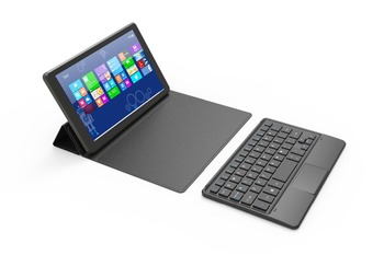 Touch Panel Bluetooth Keyboard Case for Dell Venue 8 3840  tablet pc for Dell Venue 8 3840  keyboard case cover