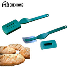 Specialty European Bread Arc Curved Bread Knife Western-style Baguette Cutting French Toas Cutter Prestrel Bagel kitchen Tools(China)