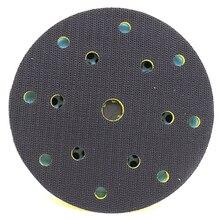 6 дюймов виде незаполненного круга шлифовальный диск 150 мм палка абразивных материалов на застежке-липучке Vacummed 150 мм 15 отверстий