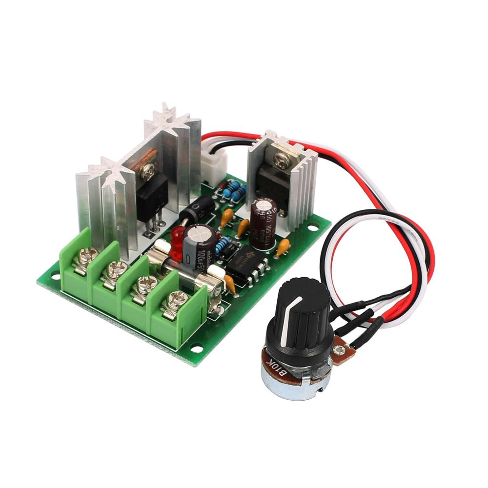 цена на Universal 12V 24V 30V 10A PWM DC Motor Speed Regulator Controller Switch