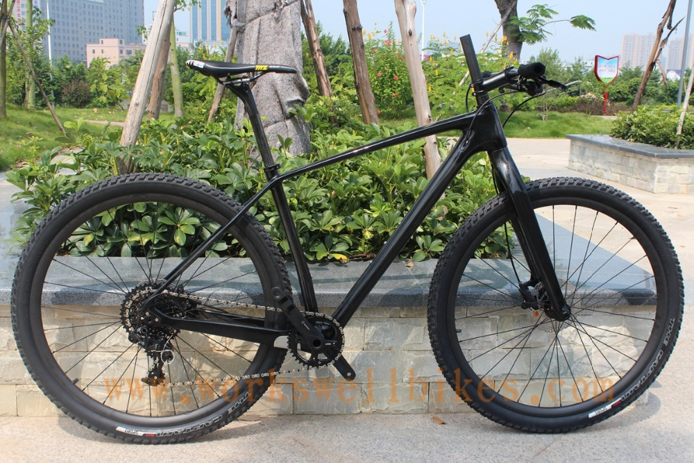 chinese cheap oem bicycle frame 30 speed complete mtb 29er hardtail bike frames carbon