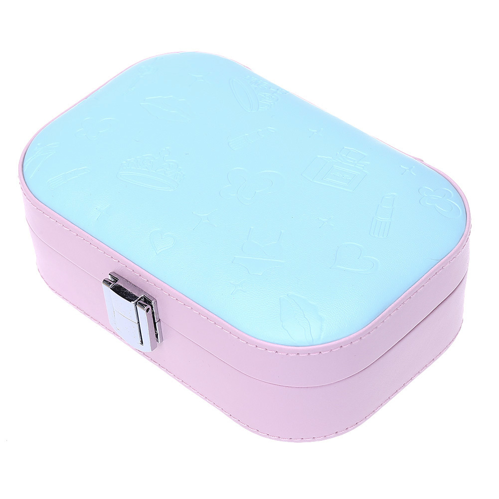 Jewelry Packaging Box Casket Box For Exquisite Makeup Case Cosmetics Beauty Organizer Container Boxes Birthday Gift