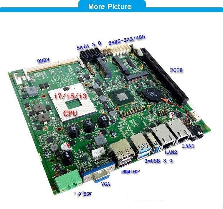 2019. gada jaunā ierašanās Mini ITX mātesplates atbalsts rPGA 988 - Rūpnieciskie datori un piederumi - Foto 5