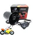 30 w 12 v Del Coche de la Motocicleta Auto Loud Air Horn 125dB Sirena de Alarma Altavoz de Sonido Van Truck Barco