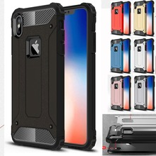 Strong Hybrid Tough Shockproof Armor Phone Back Case for iPhone Xr 5S SE 6S Plus 8 7 Xs MAX Hard Rugged Impact Cover Funda цена и фото