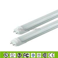 UL, CE, Rohs Бесплатная Доставка AC100 до 277 В T8 LED Флуоресцентные Трубки Свет 1200 см 18 Вт 110LM/W