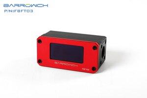 Image 5 - Barrowch FBFT03 V2, Display Digitale OLED Rotore Misuratori di Portata, Più Colore In Lega di Alluminio del Pannello + POM Del Corpo, rilevamento in tempo reale