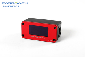 Image 5 - Barrowch FBFT03 V2, dijital ekran OLED Rotor debimetre, çoklu renk alüminyum alaşımlı Panel + POM gövdesi, gerçek zamanlı algılama