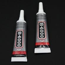 цена на 1 piece 15ml Best B6000 multi-purpose glue epoxy resin Diy crafts glass touch screen mobile phone super glue B6000
