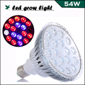 54W Full Spectrum LED Grow light 18leds AC85-256V Plant Lamp for Flowering Plants and Hydroponics, Indoor Grow tent/box