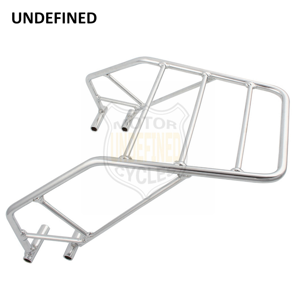 Motorcycle Accessories Chrome Rear Fender Luggage Rack Tool Box Carrier Shelf Mount Bracket For Honda CB250 Nighthawk All 125cc cbt125 carburetor motorcycle pd26jb cb125t cb250 twin cylinder accessories free shipping