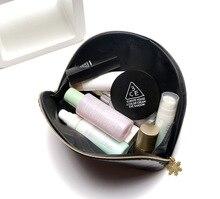 Women Cosmetic Bags Clutch Waterproof Letter Storage