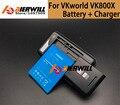 Precio bajo 1 UNID Escritorio Del Muelle Del Cargador + Para VKworld VK800X batería de 2200 mAh Li-ion Batería de Repuesto Para VKworld VK800X + en stock