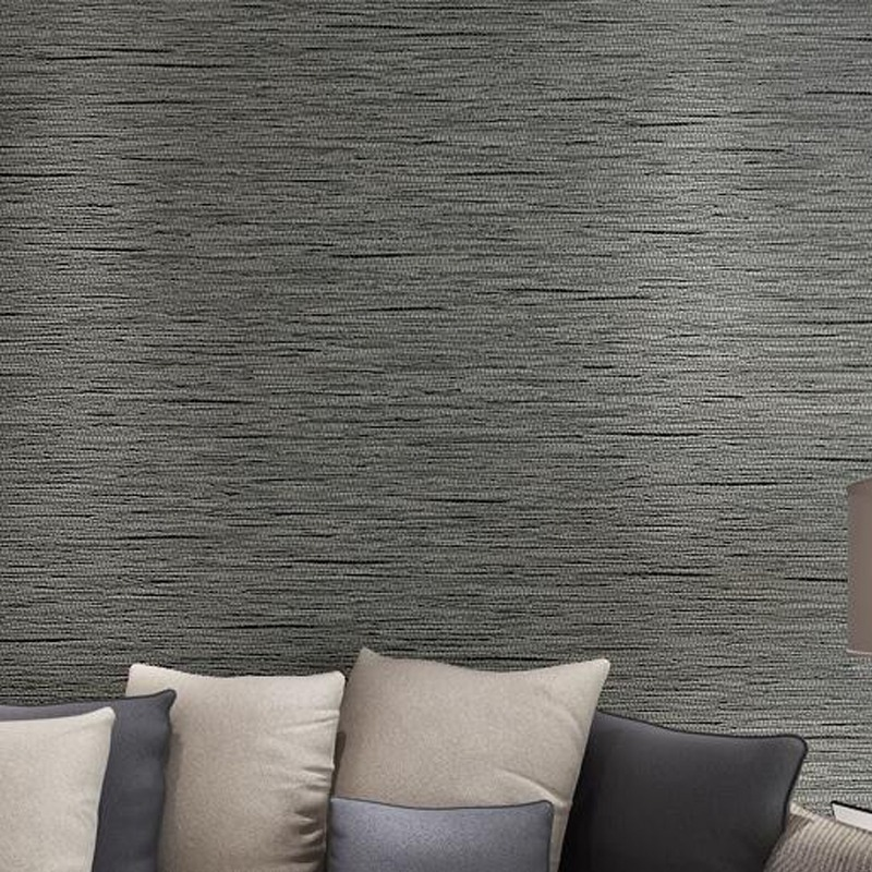 Hohe Qualität Einfache Moderne Hause Tapete Rollen Sofa Wohnzimmer  Hintergrund Stroh Wand Papier Muster Papel De