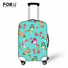 FORUDESIGNS Chic Style Case Cover for Suitcase Bags Travel Luggage Accessories for Men's Women Cool Protection Case Dropshipping(China)