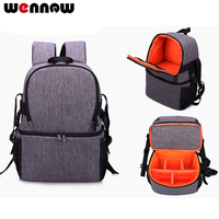 wennew backpack Waterproof Camera Bag Cover SLR Photographer Case For Sony Alpha a6500 a6300 a6000 a5100 a5000 a3000 a3500