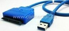 USB3 0 to SATA 22Pin 2.5″ 3.5″ HDD 7 15 Hard Disk Driver Adapter