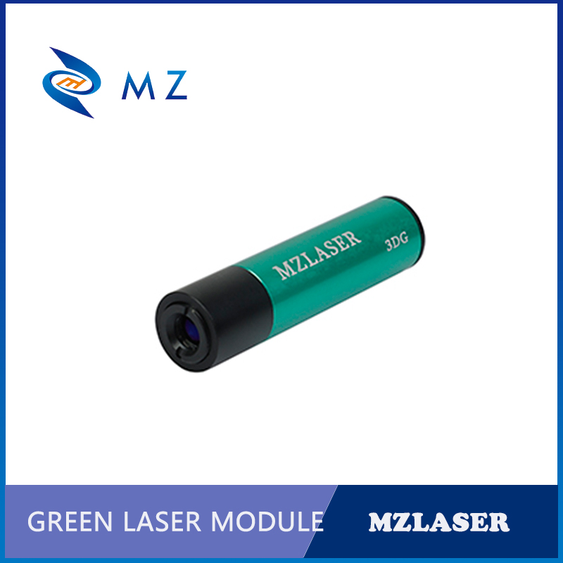 Hot Selling 520nm 5mw Industrial Adjustable Focus Green Dot Laser Diode Module