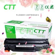 Фотография Compatible CB436A toner cartridge for hp laserjet  P1505/P1505n/M1120/M1120n/M1522nf/M1522n/M1522nf Canon Laser Shot LBP3250