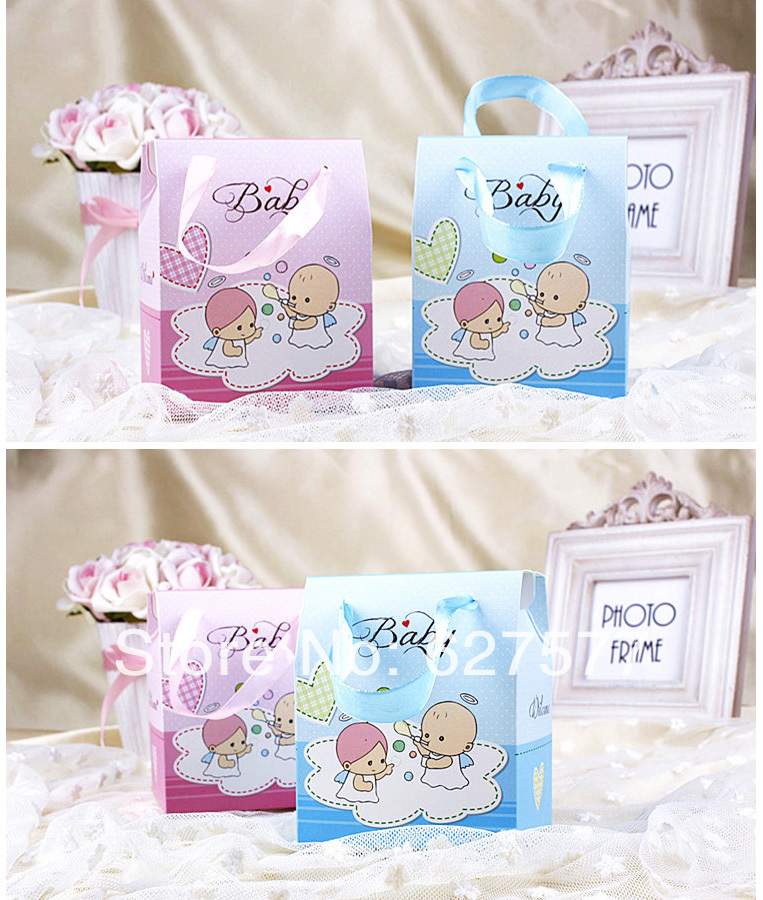 Baby Shower Favor Boxes Pinterest : Pcs baby shower favors gift boxes wedding party candy
