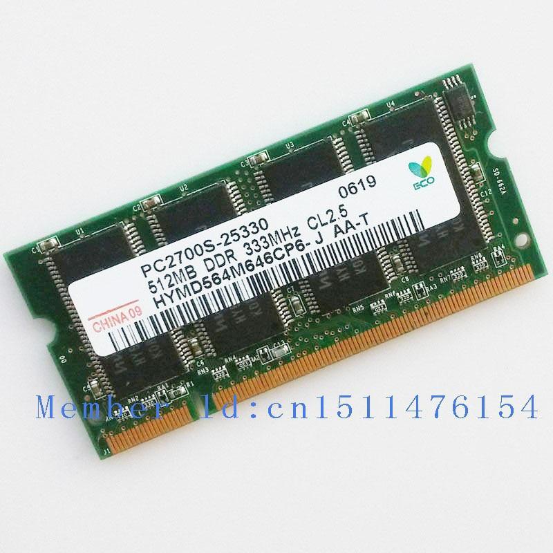 Completamente prueba !! 512 MB PC2700 DDR333 333MHZ DDR1 200 pines - Componentes informáticos - foto 1