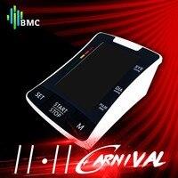 BMC Automatic Infaltion Health Medical Equipment Digital Upper Arm Blood Pressure Monitor Heart Beat Rate Pulse Meter Pulsometer