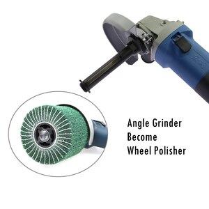 Image 4 - 1 piece 100mm*19mm Polishing Wheel Axle Connection Rod used on Angle Grinder Bulgarian 100 115 125 become Polisher