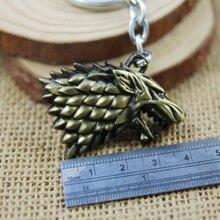 Game Of Thrones House Stark Dire Wolf Keychain
