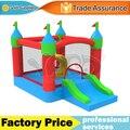 Uso doméstico nylon casa bounce castelo inflável salto trampolim brinquedos para as crianças
