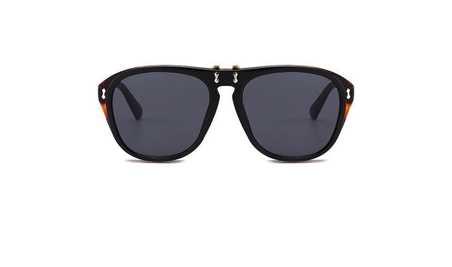 0404c561c2 MLLSE de moda doble cubierta de la cubierta gafas de sol hombres ...