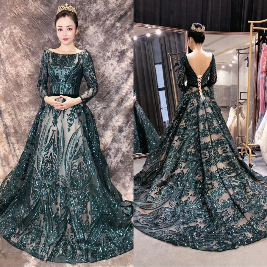 Custom Made 2019   Bridesmaid     Dresses   For Wedding Party Bridal Gowns Long Sleeves