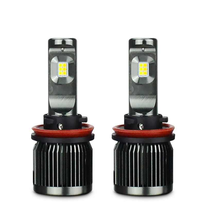 2x Double Color H8 H11 H16(JP) H7 9005 9006 HB3 HB4 50W 5000Lm Car LED Fog Headlight Bulb 3000K 6000K Lamp DRL White Gold