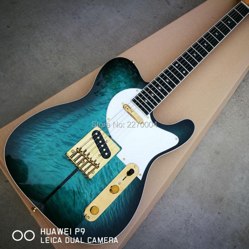 New Arrival Custom Shop TL Electric Guitar Merle Haggard Signature Tuff Dog Excellent Quality, SUPER RARE,Green color