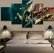 5 Piece HD Print Large Final Fantasy Game Poster Cuadros Decoracion Paintings on Canvas Wall Art for Home Decorations Decor