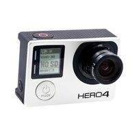 GoPro Hero4 черный спортивный Камера голой машины с изготовленным на заказ 7,2 мм 10MP без искажений 47D HFOV изменение объектив новое поступление