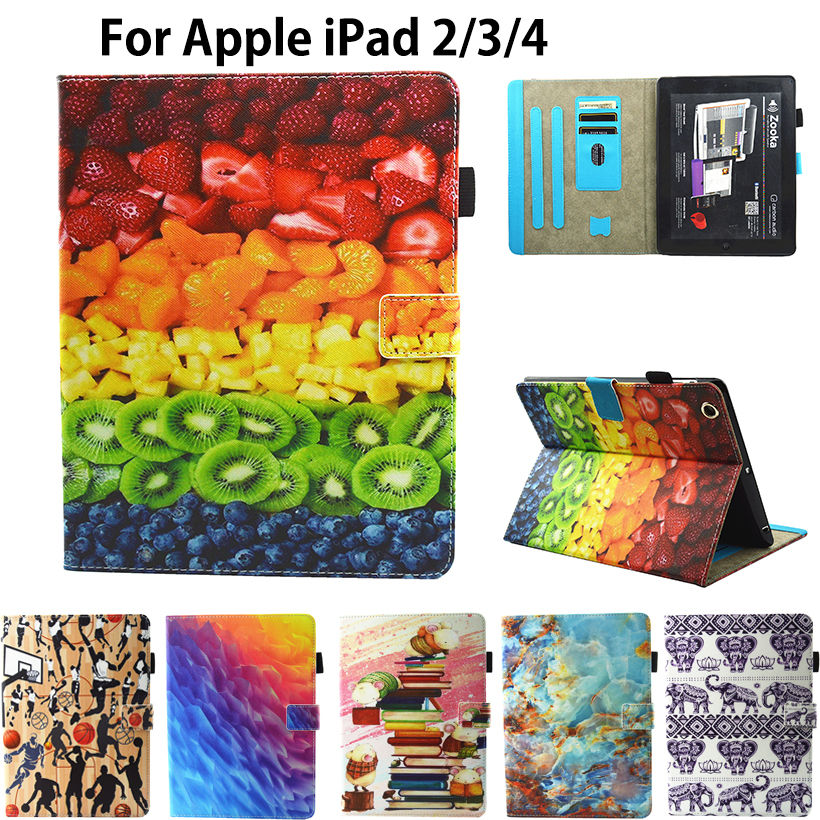 For Apple ipad 2 ipad 3 ipad 4 Tablet Cover 9.7 inch Silicone Leather Marble Pattern Printed Funda for Ipad 2 3 4 Case Skin Capa наборы для выращивания happy plant детский набор для выращивания мир русалочки
