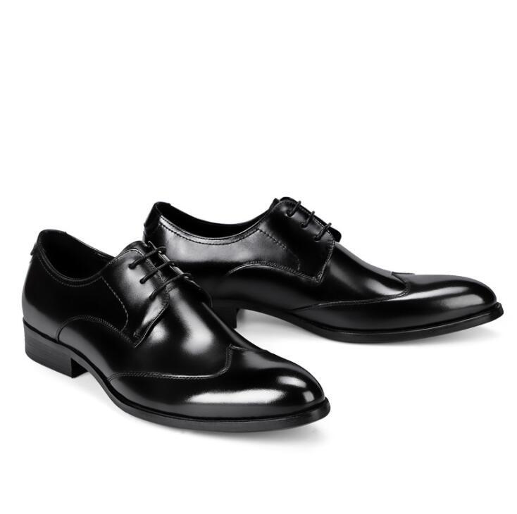 46 Lujo Hombre 38 Del Cuero Para Vivodsicco vino Gran Genuino Oxford Negro De Boda Zapatos Tinto Vestir Clásico Banquete Hombres Tamaño 5SPnqTXwna