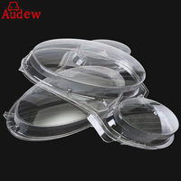 2Pcs Car Headlight Fog Light Lens Clear Lens Headlamp Cover For Mercedes For Benz E CLASS