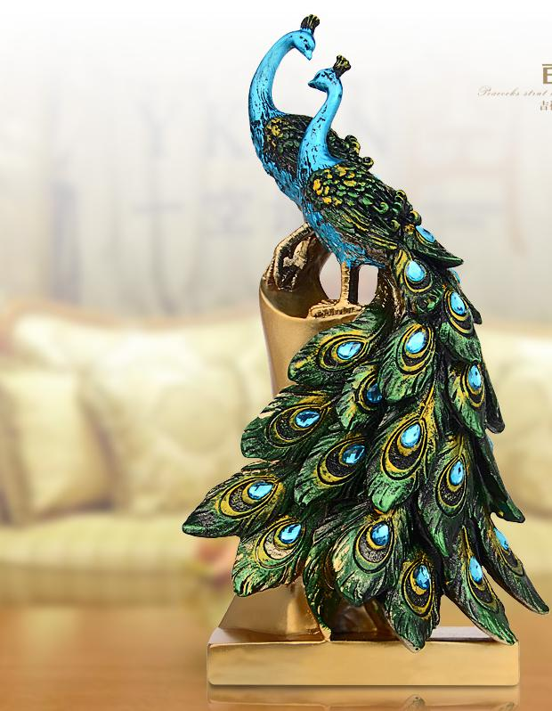 Online Buy Wholesale artificial peacock birds from China