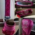 Coche de gama alta atmósfera conjuntos de engranajes de freno de mano conjunto del cinturón de seguridad tubo de artículos varios conjuntos de espejos retrovisores