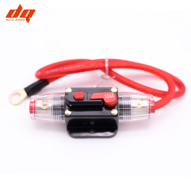 car audio insurance seat with switch automatic fuse box bile 0 5m rh aliexpress com Fuse Box to Breaker Box Circuit Breaker Fuse Replacement