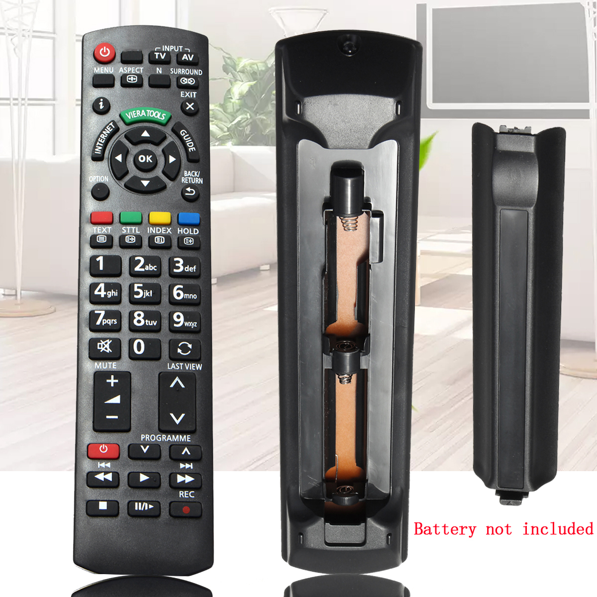 Replacement IR Remote Control For Panasonic 3D TV N2QAYB0006