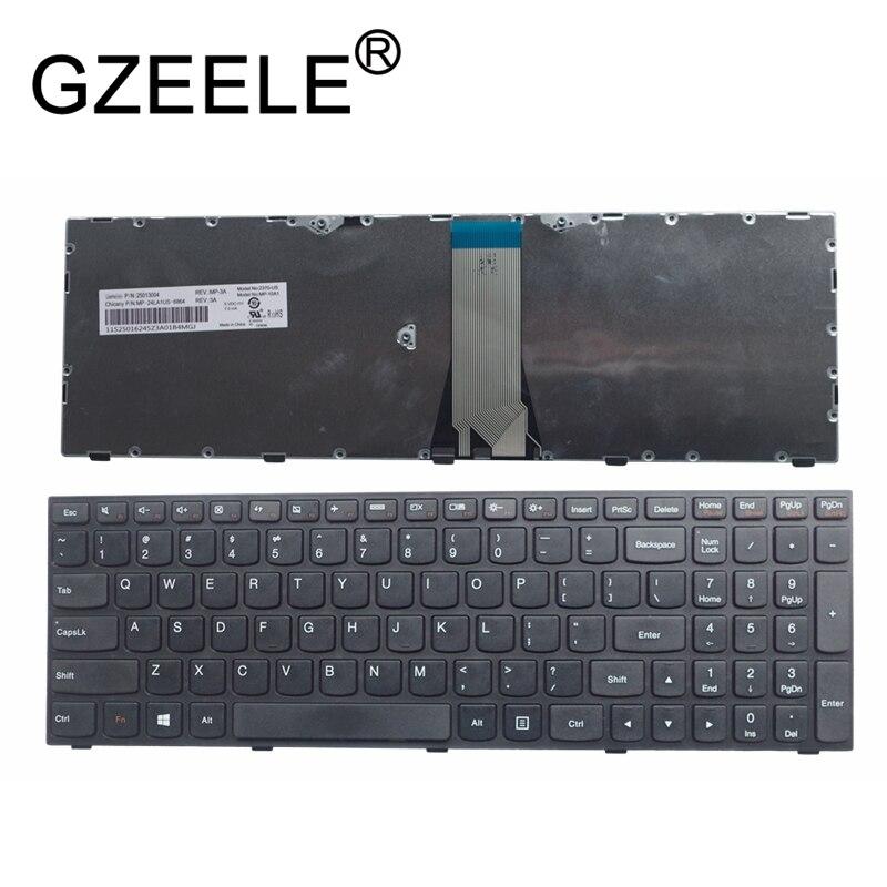 GZEELE NEW Laptop Keyboard FOR LENOVO E50-70 E50-80 G50-80 B51 B51-30 B51-35 B51-80 B71 G51 Flex 2-15 US Replace English Layout
