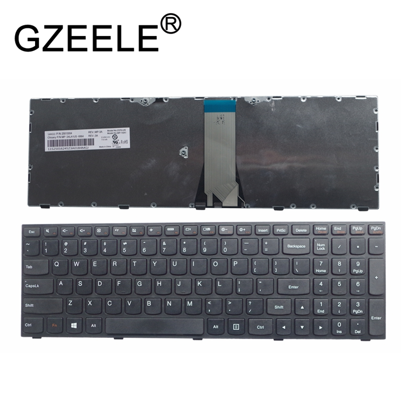 perfk Laptop Replacement Keyboard For IBM Lenovo G50 G50-30 G50-45 G50-70 G50-75 G50-80 Great to Replace Faulty Cracked Broken Keyboard